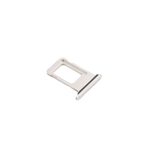 iPhone XS Max SIM kelkka - Hopea / Valkoinen