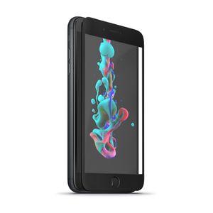 Forever 5D Iskunkestävä Panssarilasi iPhone 6 / 6S, musta