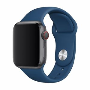 Devia Apple iWatch hihna 40mm / 38mm, tummansininen