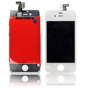 iPhone 4S LCD-näyttö + kosketuspaneeli - Valkoinen