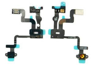 iPhone 4S Virtanapin ja lähestymisanturin flex-kaapeli