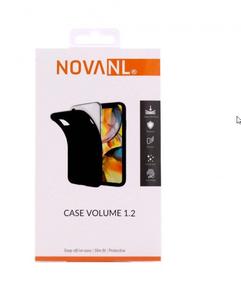 NovaNL TPU Volume 1.2 suojakotelo Apple iPhone 13 Mini - musta