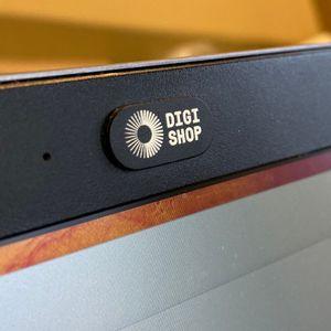 Yksityisyyssuoja kannettavan tietokoneen / tabletin kameralle - Musta