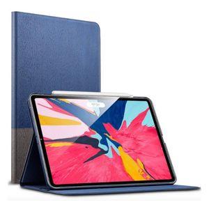 """ESR Urban Premium Series Slim Book-style Suojakotelo Apple iPad 9.7"""" (2017/2018), harmaansininen"""