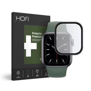 HOFI Protector Premium Pro Iskunkestävä Panssarilasi Apple Watch 4 / 5 44mm - musta