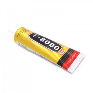 T-8000 Elastinen liima tablettien ja puhelinten korjaamiseen, 110ml