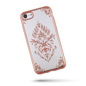 Beeyo Floral Suojakuori iPhone 6 / 6S, ruusukulta