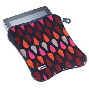 Built NY Neoprene Sleeve for iPad/iPad2, Rain Drop