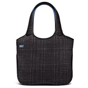 "BUILT NY Neoprene Tote Bag for 13"" Macbook Graphite Grid"