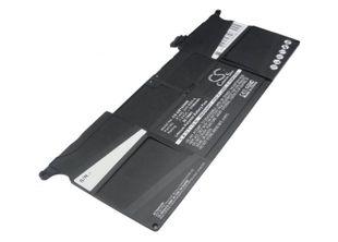 Macbook Air 11-tuumaa 2013 2014 2015 A1495 akku 5100 mAh musta