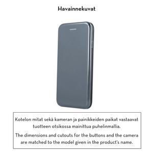 Forever lompakkomallinen Armor suojakotelo iPhone X / iPhone Xs - harmaa