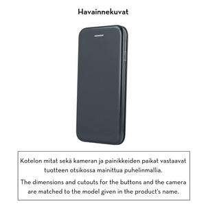 Forever lompakkomallinen Armor suojakotelo iPhone XR - musta