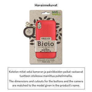 Forever Bioio 100% biohajoava suojakotelo iPhone Xs Max - punainen