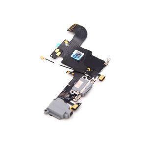 iPhone 6S Latausportti / Kuulokeportti / Mikrofoni - Musta