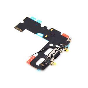 iPhone 7 Latausportti flex-kaapeli ja mikrofoni - Musta