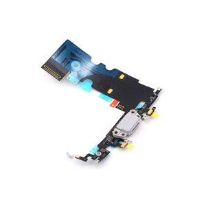 iPhone 8 Latausportti / Mikrofoni - Valkoinen