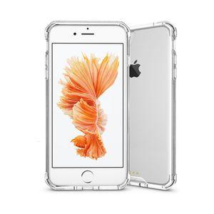Armor-X AHN iPhone 6 Plus / 6S Plus Ultra Slim Iskunkestävä Suojakotelo - Läpinäkyvä / Kristallinkirkas