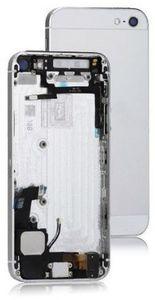 iPhone 5 Takakansi / runko + pienosat - Valkoinen