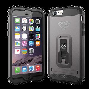Armor-X CX iPhone 6 / 6S Rugged suojakotelo - Harmaa