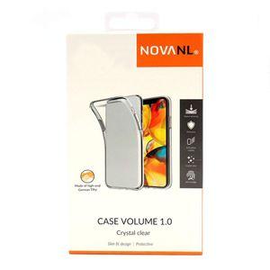 NovaNL TPU Volume 1.0 suojakotelo Apple iPhone XR - läpinäkyvä