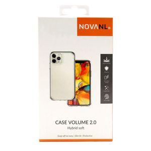 NovaNL TPU Volume 2.0 suojakotelo Apple iPhone XR - läpinäkyvä