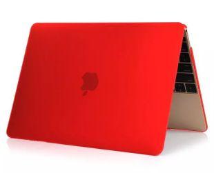 """Apple Macbook Pro 15"""" Touchbar A1707 Kovamuovinen suojakotelo Punainen"""