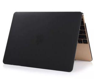 """Apple Macbook Pro 13"""" Unibody Kovamuovinen suojakotelo Musta"""