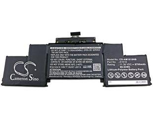 MacBook Pro 15 Retina 2015 Malli A1398 - A1618 akku 8700 mAh
