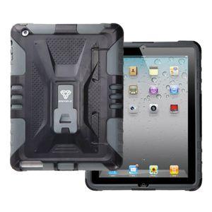 Armor-X CX iPad Mini Kestävä Suojakotelo X-Mount kiinnityksellä, harmaa