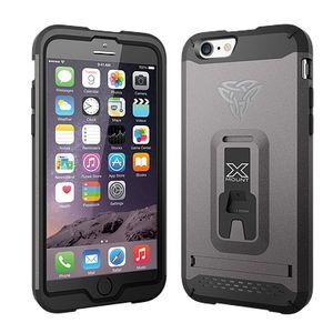 Armor-X CX iPhone 6 / 6S Plus Rugged suojakotelo - Harmaa