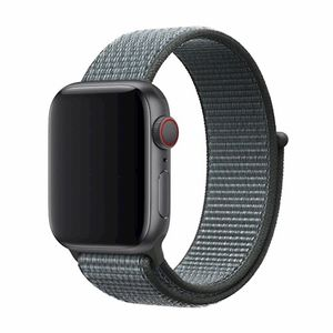 Devia Deluxe Sport3 Apple Watch hihna 44mm / 42mm - harmaa / storm gray