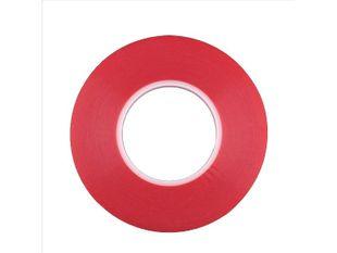 Kaksipuolinen vahva teippi mm. näyttöjen kiinnittämiseen (6mm x 25m)