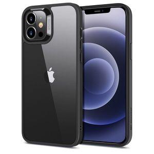 ESR Classic Hybrid Suojakotelo iPhone 12 Pro Max Musta / Läpinäkyvä