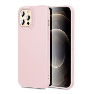 ESR Cloud Silikonisuoja iPhone 12 / 12 Pro Pinkki Hiekka