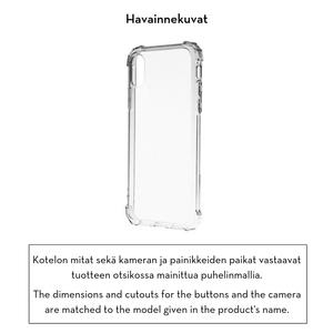 Forever Crystal suojakotelo iPhone Xs Max - läpinäkyvä