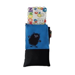 Muumi-suojapussi Haisuli, yleiskäyttöinen suojapussi puhelimelle - sininen, musta