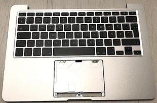 """Apple Macbook Pro 13"""" Retina A1502 Näppäimistökansi Late 2013 Mid 2014"""