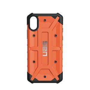 UAG Urban Armor Gear Pathfinder kestävä suojakotelo iPhone X - Oranssi / musta