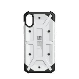 UAG Urban Armor Gear Pathfinder kestävä suojakotelo iPhone X - Valkoinen / musta