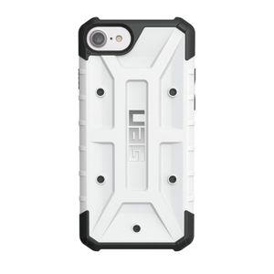 UAG Urban Armor Gear Pathfinder kestävä suojakotelo iPhone 8 / 7 / 6S / 6 - Musta / valkoinen
