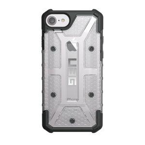 UAG Urban Armor Gear Plasma kestävä suojakotelo iPhone 8 / 7 / 6S / 6 - Musta / läpinäkyvä