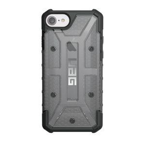 UAG Urban Armor Gear Plasma kestävä suojakotelo iPhone 8 / 7 / 6S / 6 - Musta / Läpinäkyvä harmaa