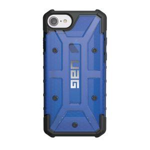 UAG Urban Armor Gear Plasma kestävä suojakotelo iPhone 8 / 7 / 6S / 6 - Musta / Läpinäkyvä sininen
