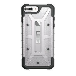 UAG Urban Armor Gear Plasma kestävä suojakotelo iPhone 8 Plus / 7 Plus / 6S Plus / 6 Plus - Musta / läpinäkyvä