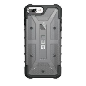 UAG Urban Armor Gear Plasma kestävä suojakotelo iPhone 8 Plus / 7 Plus / 6S Plus / 6 Plus - Musta / harmaa läpinäkyvä