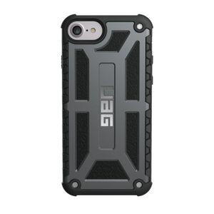 UAG Urban Armor Gear Monarch Premium kestävä suojakotelo iPhone 8 / 7 / 6 / 6S  - Grafiitinharmaa