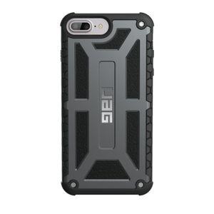 UAG Urban Armor Gear Monarch Premium kestävä suojakotelo iPhone 8 Plus / 7 Plus / 6 Plus / 6S Plus - Grafiitti Musta