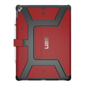UAG Urban Armor Gear Metropolis  iPad Pro 12.9 Suojakotelo 2017 (2nd Gen) - musta / punainen