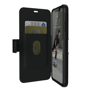 UAG Urban Armor Gear Metropolis Flip Case suojakotelo iPhone XS Max - Musta
