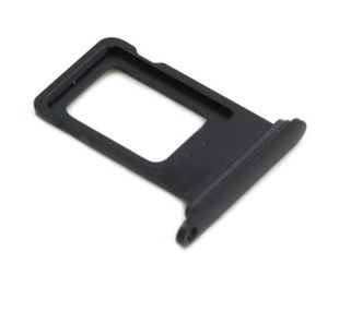 iPhone XR SIM kelkka - Musta